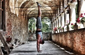 Male yogi